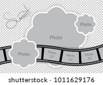 photo frame for sweet baby and... | Shutterstock .eps vector #1011629176