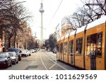 yellow  public transportation... | Shutterstock . vector #1011629569