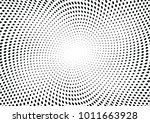 abstract halftone wave dotted... | Shutterstock .eps vector #1011663928