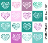 background or seamless pattern... | Shutterstock .eps vector #1011674404