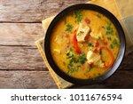 brazilian food  moqueca baiana... | Shutterstock . vector #1011676594