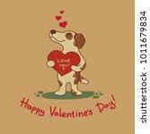 cute doodle tribal illustratoin ... | Shutterstock .eps vector #1011679834