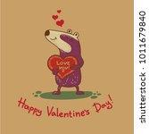 cute doodle tribal illustratoin ... | Shutterstock .eps vector #1011679840