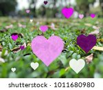 valentines with love and hearts ... | Shutterstock . vector #1011680980