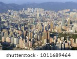 tightly packed buildings in the ... | Shutterstock . vector #1011689464