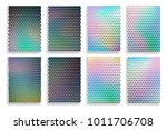 set of abstract blurred... | Shutterstock .eps vector #1011706708