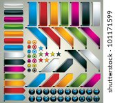 set of web design elements  ... | Shutterstock .eps vector #101171599