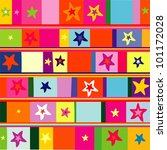 stars seamless repeat pattern... | Shutterstock . vector #101172028