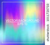abstract colorful neon smooth... | Shutterstock .eps vector #1011720733