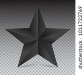 Volumetric Five Pointed Star....