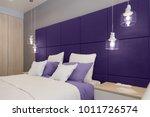 interior of the room in light... | Shutterstock . vector #1011726574