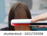 keratin recovery hair and... | Shutterstock . vector #1011735208