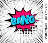 bang  boom  gun comic text... | Shutterstock .eps vector #1011747178
