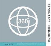 camera 360 degree icon vector... | Shutterstock .eps vector #1011750256