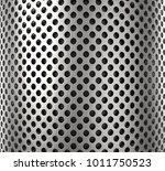 3d rendering of perforated... | Shutterstock . vector #1011750523