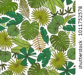 vector seamless pattern with... | Shutterstock .eps vector #1011752578