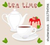 vector illustration logo for... | Shutterstock .eps vector #1011754546