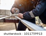 focus hand view of professional ...   Shutterstock . vector #1011759913