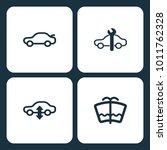 vector illustration set car... | Shutterstock .eps vector #1011762328