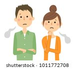 young couple  sigh | Shutterstock .eps vector #1011772708