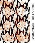 snake skin texture.  texture...   Shutterstock .eps vector #1011778288