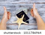 concept of travelling  shopping ... | Shutterstock . vector #1011786964