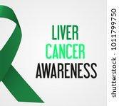 world liver cancer day...   Shutterstock .eps vector #1011799750