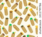 set of color tortilla food...   Shutterstock .eps vector #1011799786