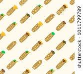 set of color tortilla food...   Shutterstock .eps vector #1011799789