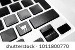 conceptual keyboard key e...   Shutterstock . vector #1011800770