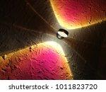 light in the darkness. tilt... | Shutterstock . vector #1011823720
