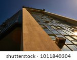 panoramic and perspective wide... | Shutterstock . vector #1011840304