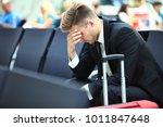 delayed flight   business... | Shutterstock . vector #1011847648