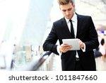 business travel   businessman... | Shutterstock . vector #1011847660