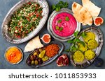 middle eastern traditional... | Shutterstock . vector #1011853933