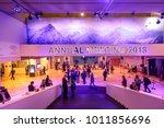davos  switzerland   jan 25 ... | Shutterstock . vector #1011856696