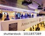davos  switzerland   jan 24 ... | Shutterstock . vector #1011857389