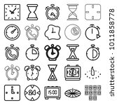 minute icons. set of 25...   Shutterstock .eps vector #1011858778