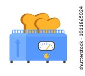 icon isometric retro toaster... | Shutterstock .eps vector #1011865024