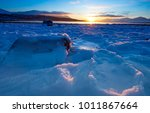 frozen sea at winter. norway... | Shutterstock . vector #1011867664