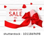 happy valentines day. holiday... | Shutterstock .eps vector #1011869698