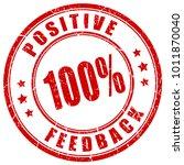 positive feedback red grunge... | Shutterstock .eps vector #1011870040