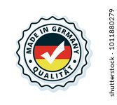 made in germany label... | Shutterstock .eps vector #1011880279