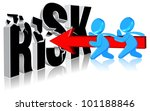 investment risk business... | Shutterstock . vector #101188846