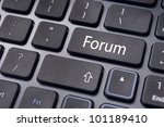 forum, online or internet discussion, a popular to way communicate in internet. - stock photo
