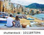 cefalu  italy   september 26 ... | Shutterstock . vector #1011897094