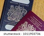 london  uk  january 04  2018 ... | Shutterstock . vector #1011903736