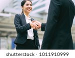 business partnership marketing... | Shutterstock . vector #1011910999