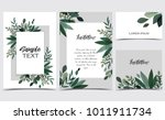 vector illustration invitation... | Shutterstock .eps vector #1011911734