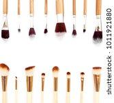 professional makeup tools....   Shutterstock . vector #1011921880